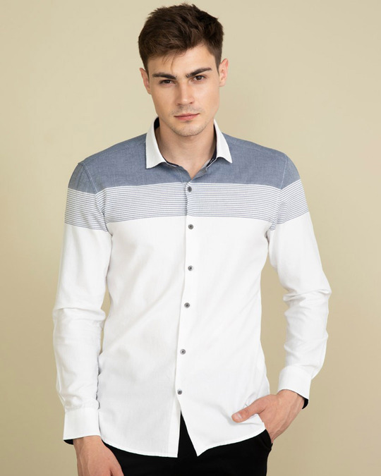 Shop Flamboyant White Shirt-Full