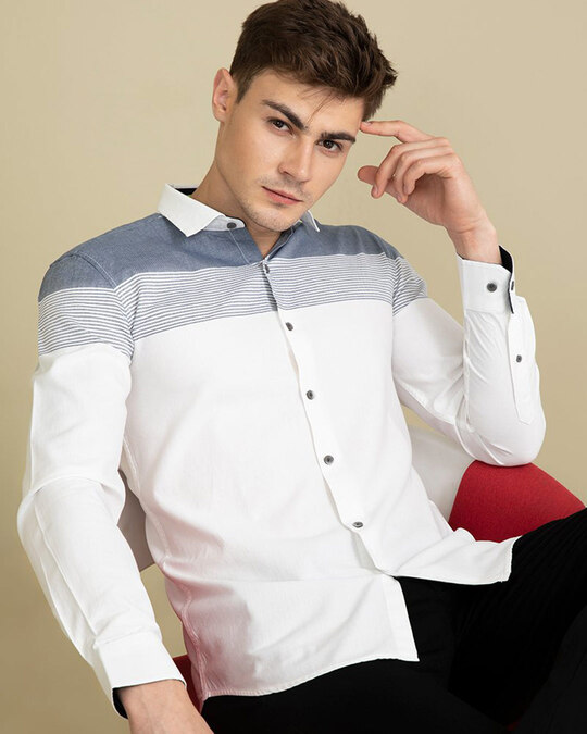 Shop Flamboyant White Shirt