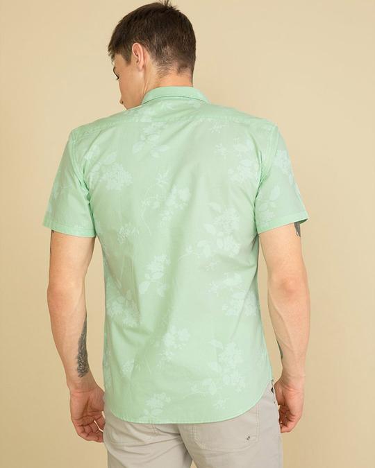 Shop Floret Green Shirt-Full