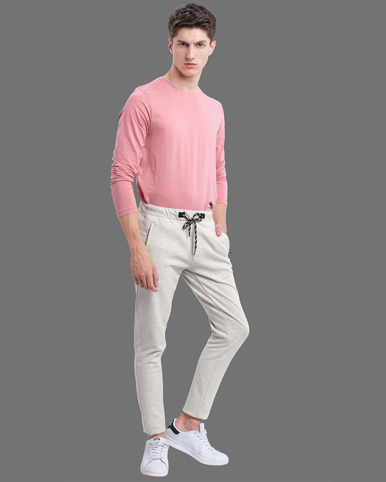 Shop Off White Amour Knitted Pants-Back