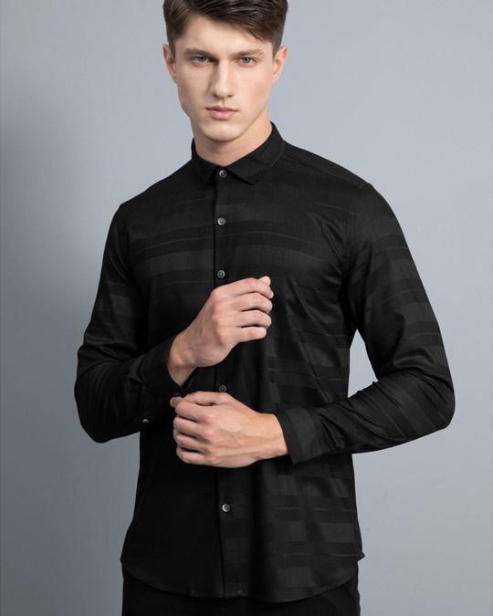 Shop Gutsy Black Shirt-Front
