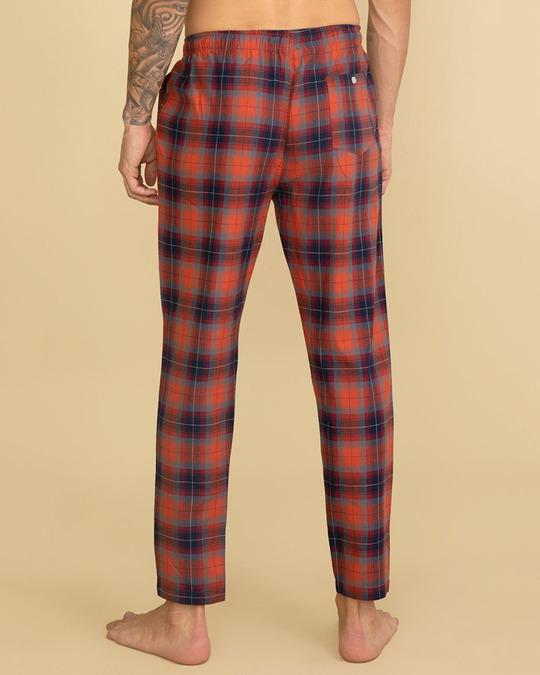 Shop Laze Candy Red Pyjama-Back
