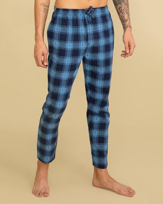 Shop Laze Caralina Blue Pyjama-Back
