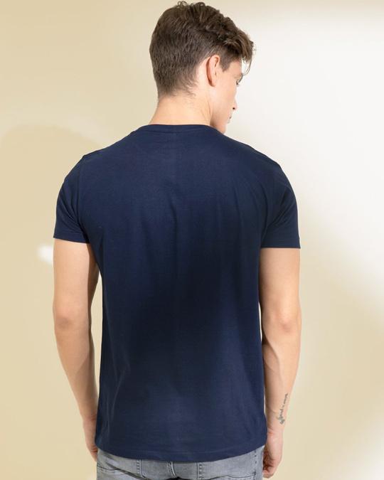 Shop Mirage Navy Graphic T Shirt-Design