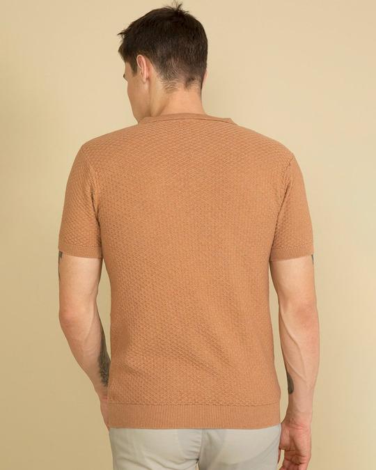 Shop Perky Beige T Shirt-Design