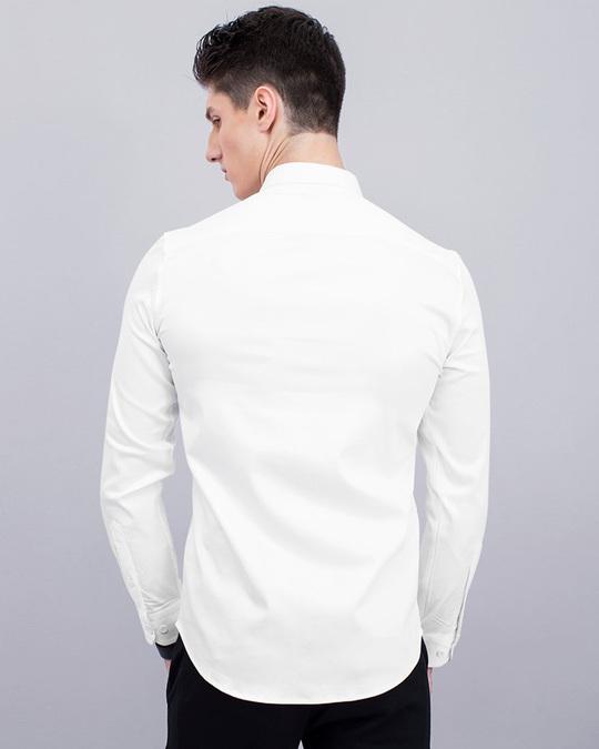 Shop White Beaded Designer Shirt-Design