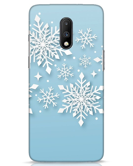 Shop Snowflakes Mc OnePlus 7 Mobile Cover-Front