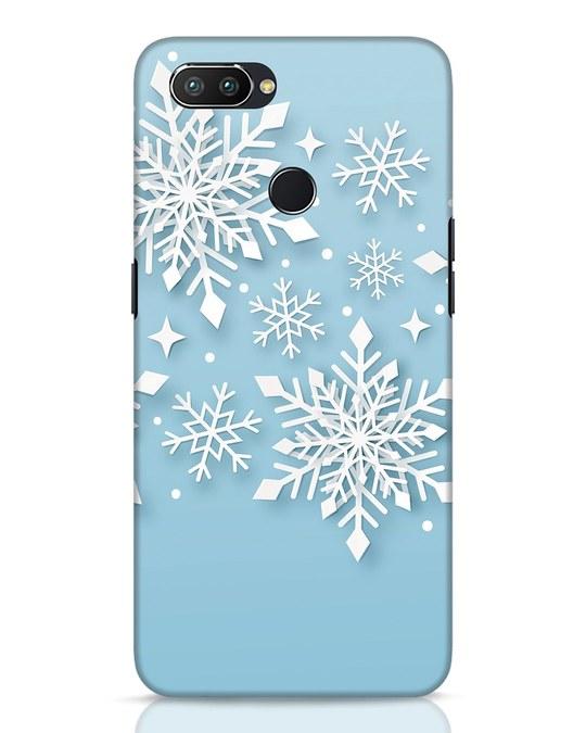 Shop Snowflakes Mc Realme 2 Pro Mobile Cover-Front