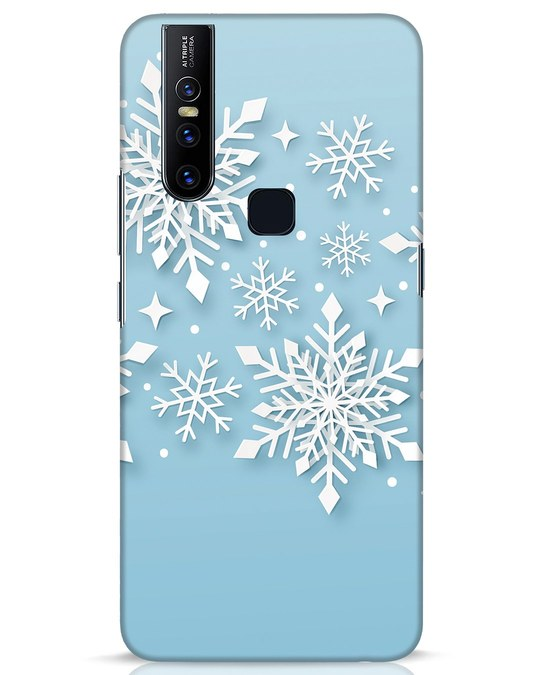 Shop Snowflakes Mc Vivo V15 Mobile Cover-Front