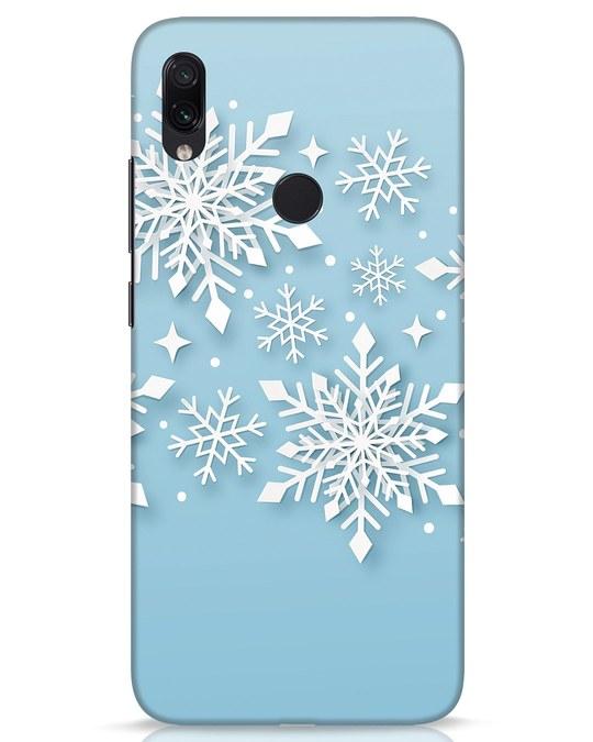Shop Snowflakes Mc Xiaomi Redmi Note 7s Mobile Cover-Front
