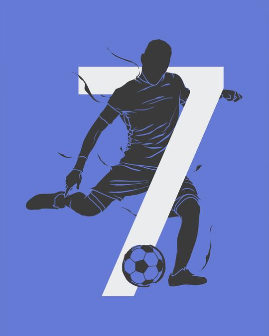 Shop Soccer 7 Full Sleeve T-Shirt