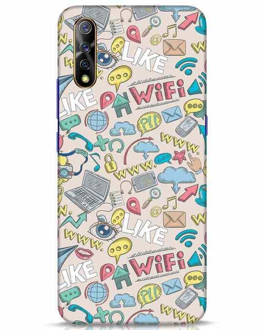 Shop Social Doodle Vivo S1 Mobile Cover-Front