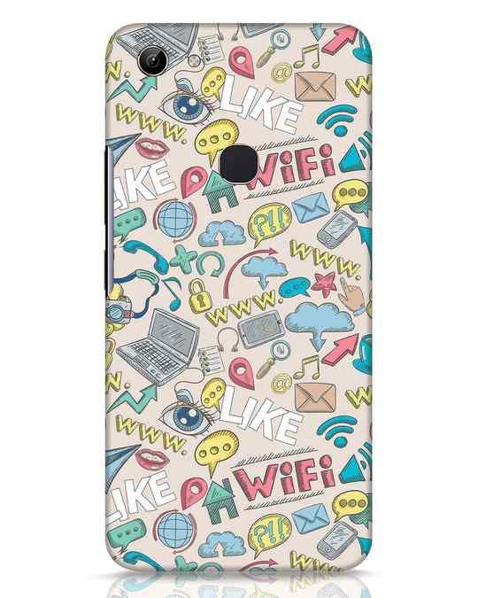 Shop Social Doodle Vivo Y81 Mobile Cover-Front