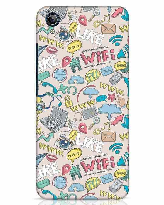 Shop Social Doodle Vivo Y91i Mobile Cover-Front