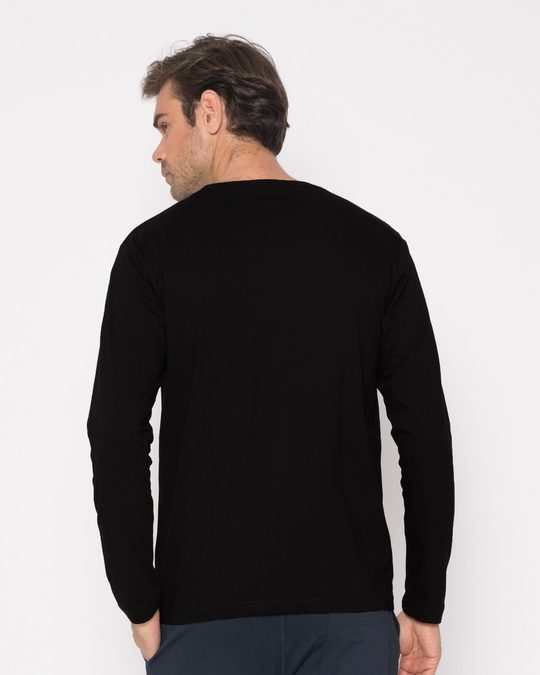 Shop Social Media Bang Full Sleeve T-Shirt-Design