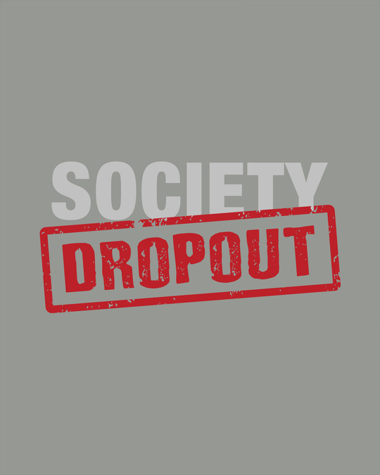 Shop Society Dropout Full Sleeve T-Shirt