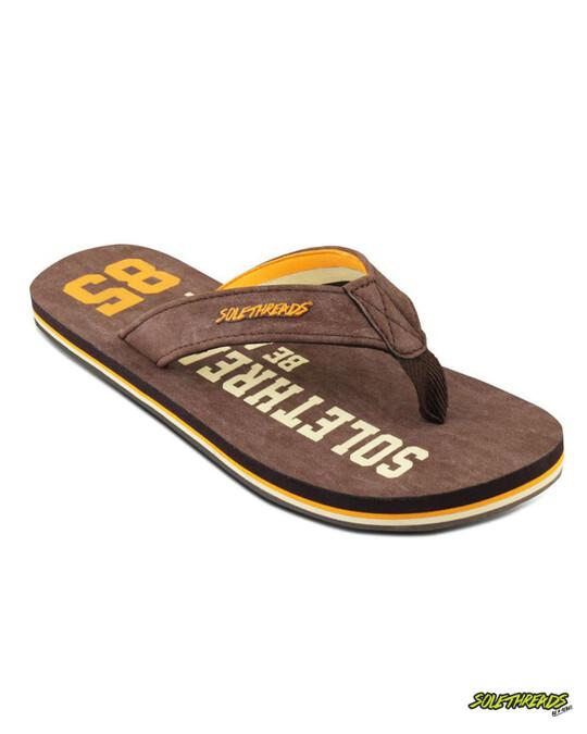 Shop 85 Brown Men's Flip Flop-Front