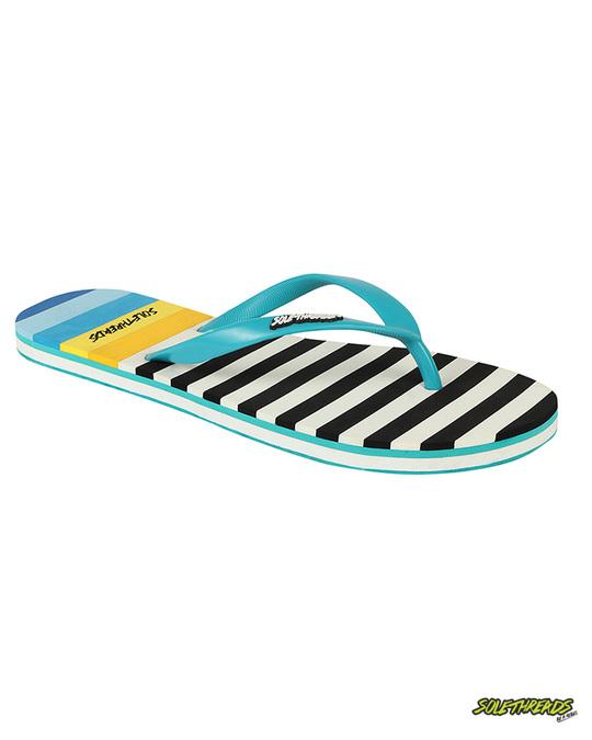 Shop Nautica Black & White Women's Flip Flop-Front