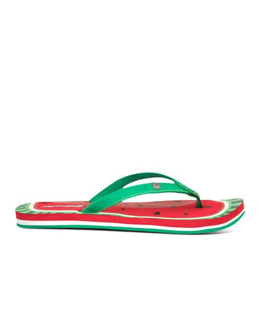 Shop Watermelon Red Women's Flip Flop
