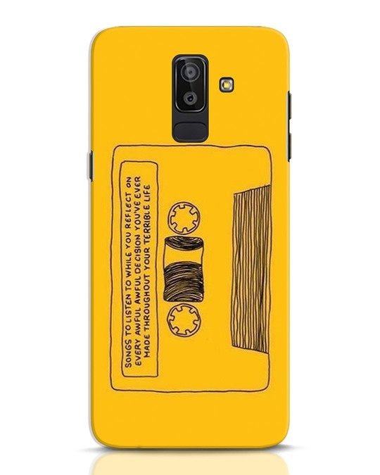 Shop Songs Samsung Galaxy J8 Mobile Cover-Front