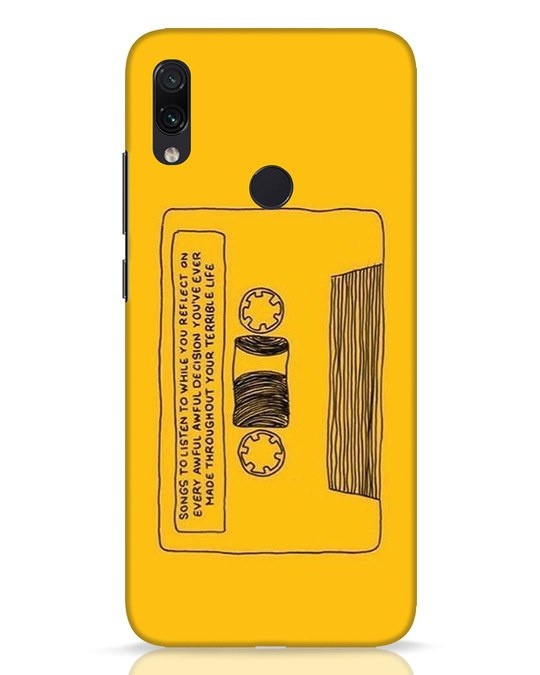 Shop Songs Xiaomi Redmi Note 7 Pro Mobile Cover-Front