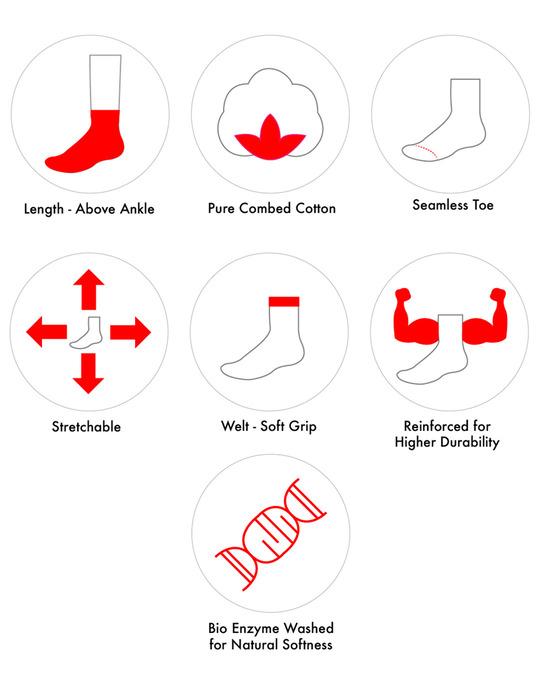Shop Soxytoes Beguiling Argyle Ankle Socks-Back