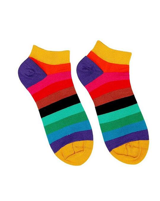 Shop Soxytoes Envision Ankle Socks (Pack of 3)-Full