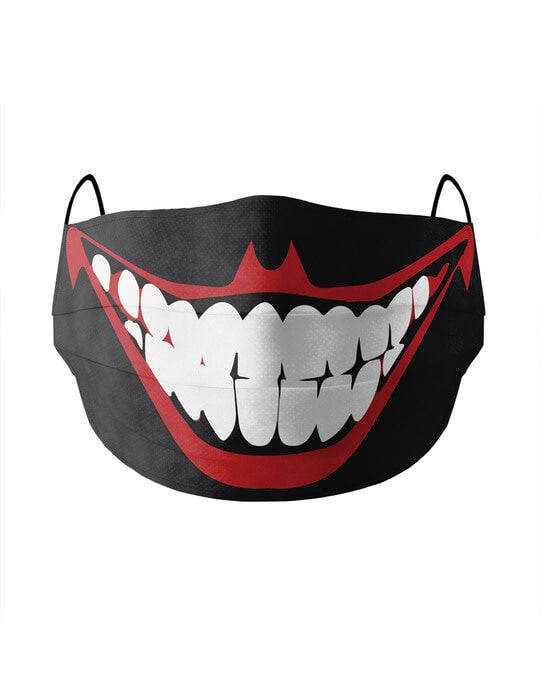 Shop Soxytoes Joker Cotton Face Mask-Front