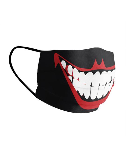 Shop Joker Cotton Face Mask-Back