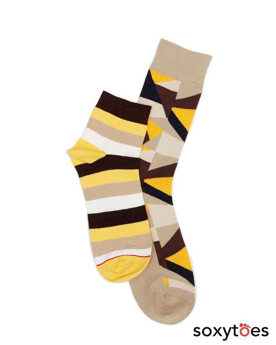 Shop Soxytoes Sockaholic Ankle Socks (Pack of 2)
