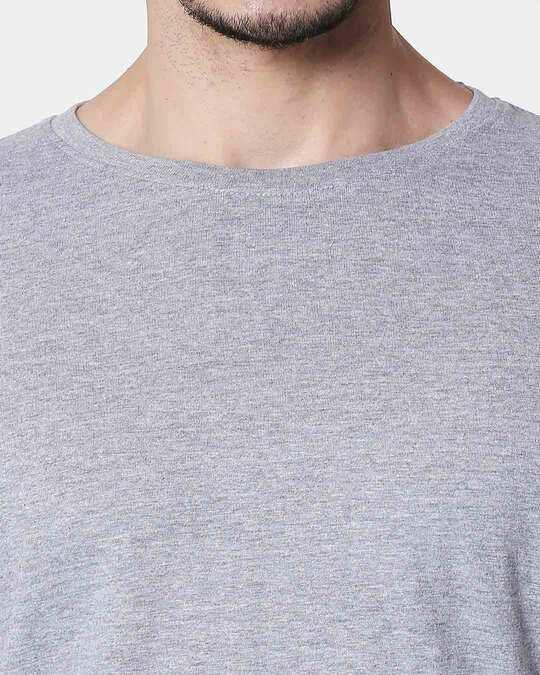 Shop Space Grey Men's Half Sleeve T-Shirt