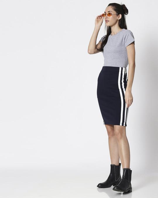 Shop Space Grey Women's Half Sleeve T-Shirt