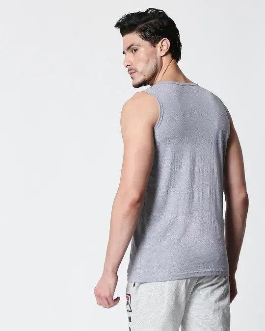 Shop Space Grey Men's Vest-Full