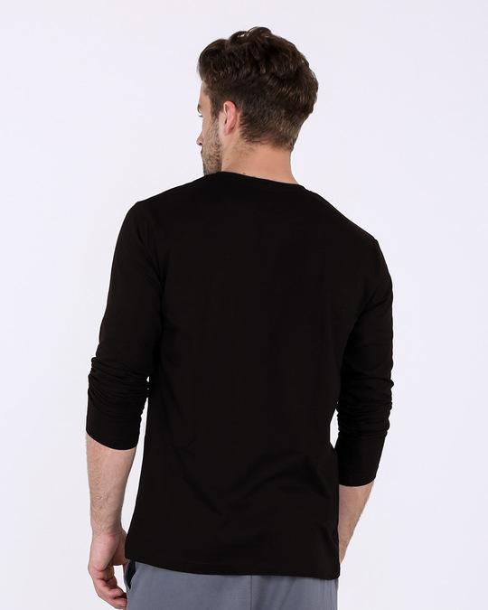 Shop Speak Less Do More Full Sleeve T-Shirt-Full