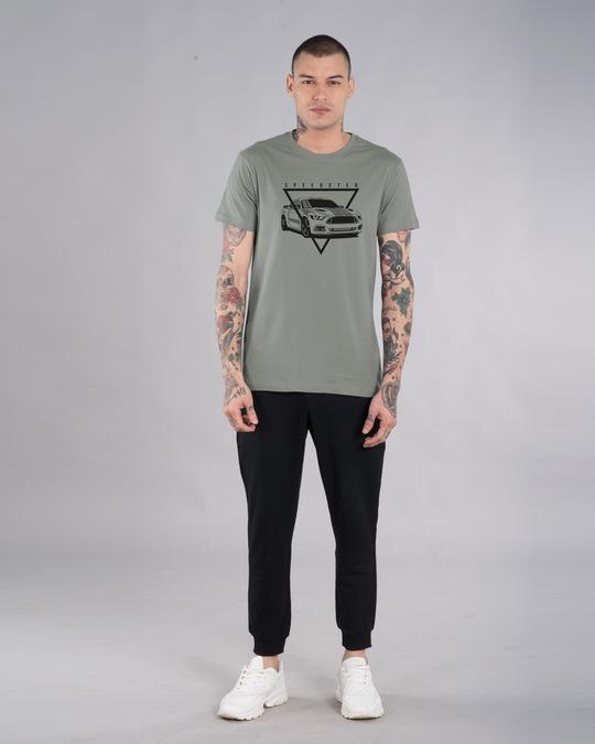 Shop Speedster Wheels Half Sleeve T-Shirt-Design