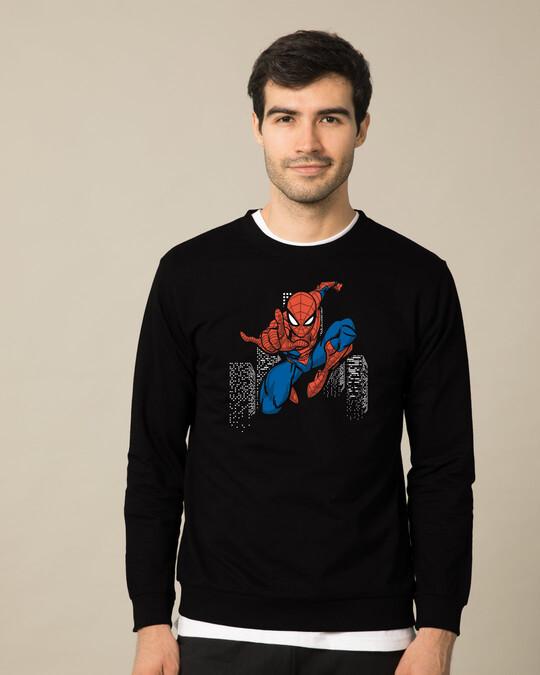 Shop Spider Jump Fleece Light Sweatshirt (SML)-Front
