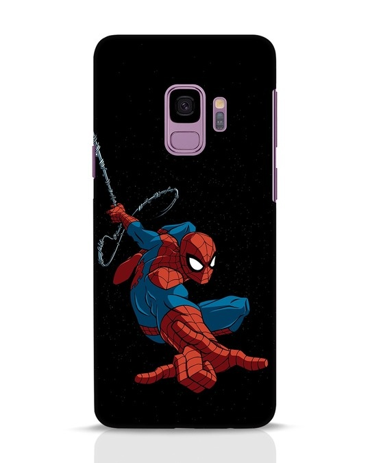 Shop Spider Man Samsung Galaxy S9 Mobile Cover-Front