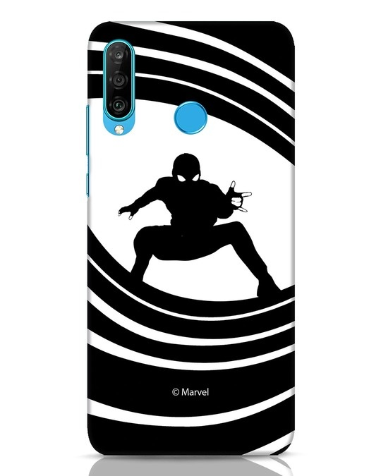 Shop Spider Web Huawei P30 Lite Mobile Cover (FFHL)-Front