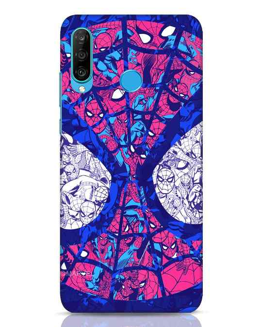 Shop Spiderman Collage Huawei P30 Lite Mobile Cover (AVL)-Front