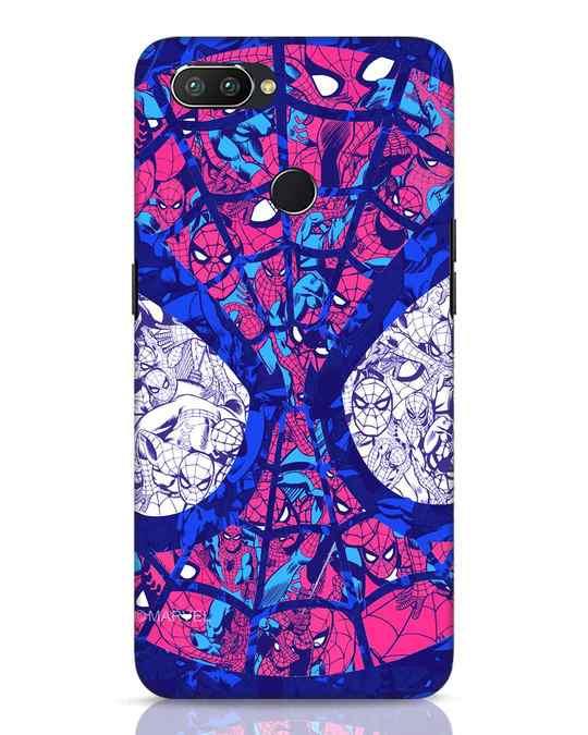 Shop Spiderman Collage Realme 2 Pro Mobile Cover (AVL)-Front