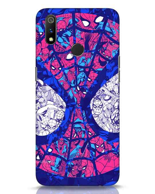 Shop Spiderman Collage Realme 3 Pro Mobile Cover (AVL)-Front
