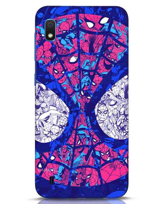 Shop Spiderman Collage Samsung Galaxy A10 Mobile Cover (AVL)-Front