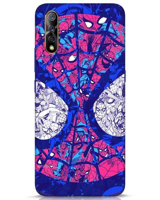 Shop Spiderman Collage Vivo S1 Mobile Cover (AVL)-Front