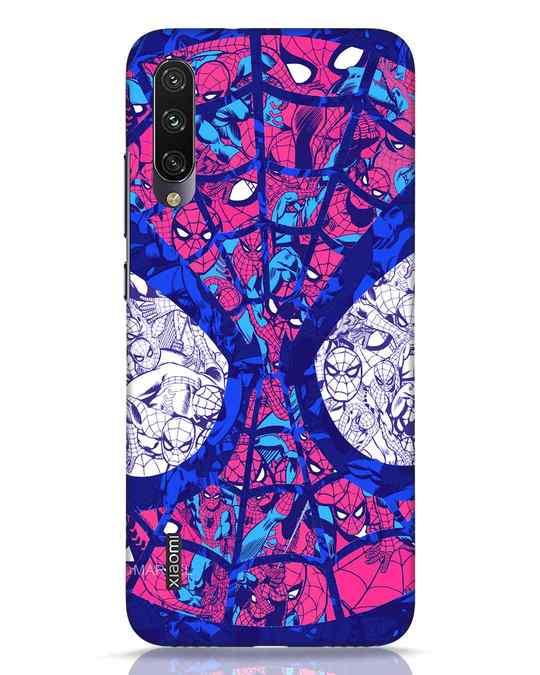 Shop Spiderman Collage Xiaomi Mi A3 Mobile Cover (AVL)-Front
