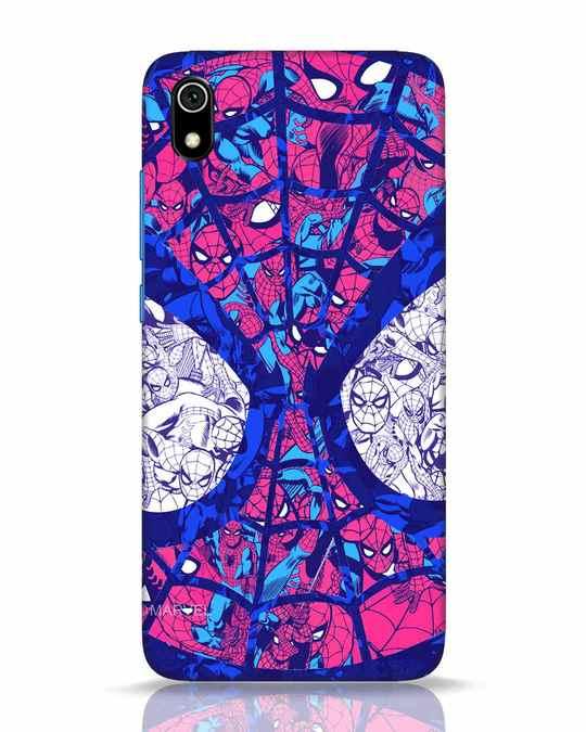 Shop Spiderman Collage Xiaomi Redmi 7A Mobile Cover (AVL)-Front