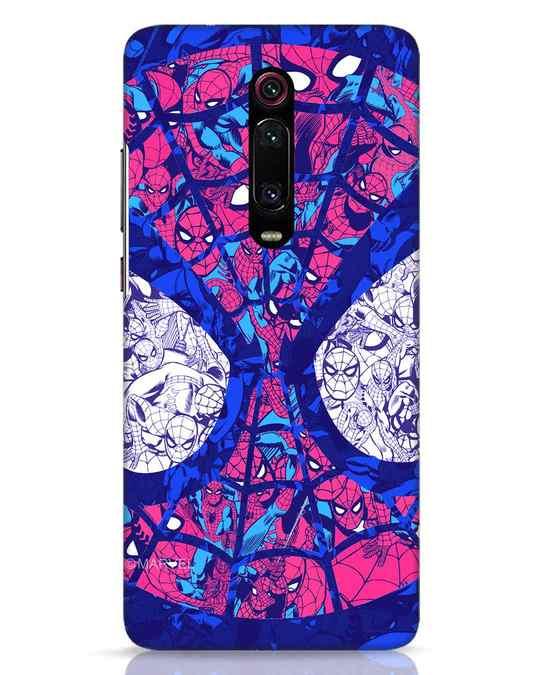 Shop Spiderman Collage Xiaomi Redmi K20 Pro Mobile Cover (AVL)-Front