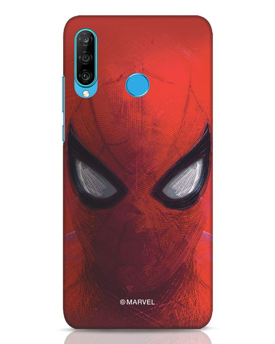 Shop Spiderman Red Huawei P30 Lite Mobile Cover (AVL)-Front
