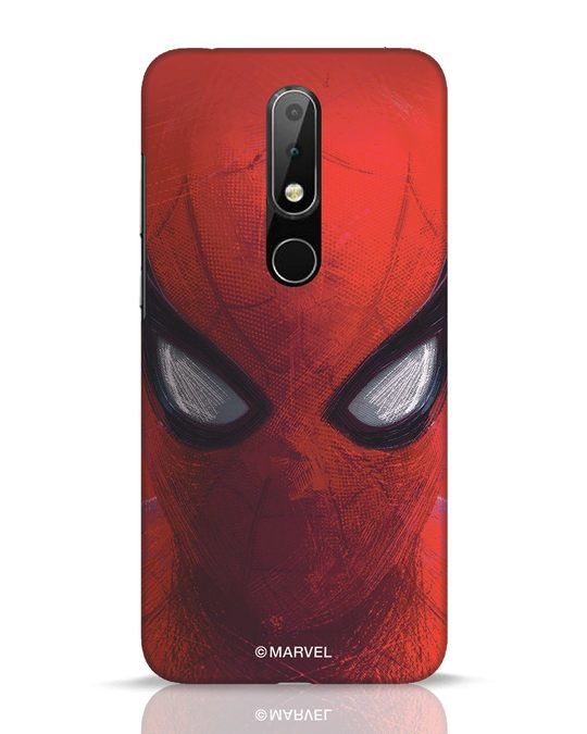 Shop Spiderman Red Nokia 6.1 Plus Mobile Cover (AVL)-Front