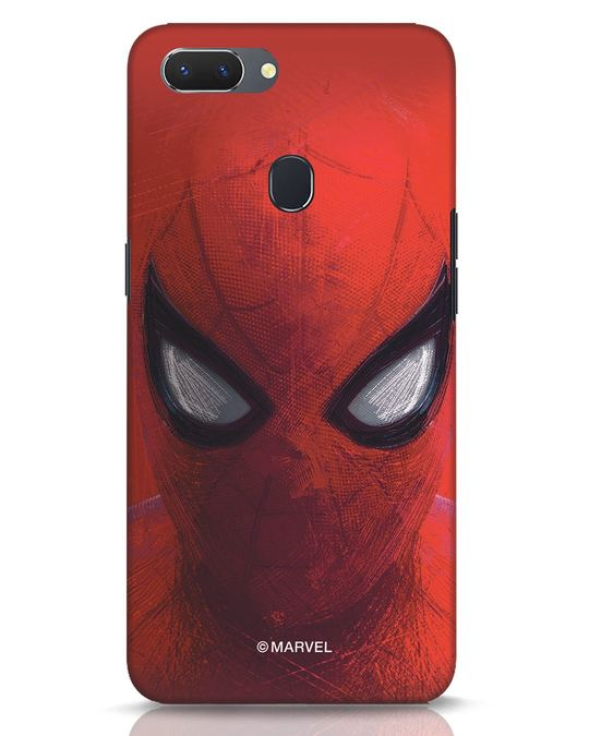 Shop Spiderman Red Realme 2 Mobile Cover (AVL)-Front