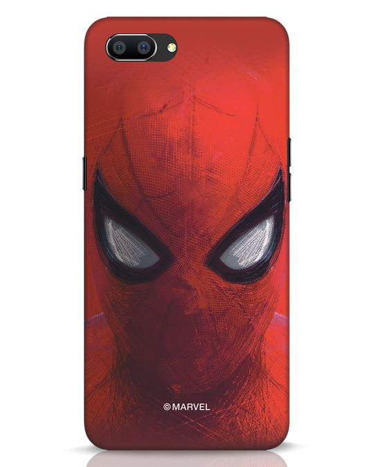 Shop Spiderman Red Realme C1 Mobile Cover (AVL)-Front